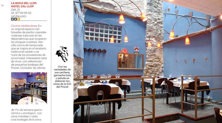 Conde Nast Traveller Guia Gastronomica