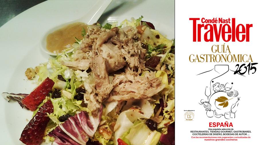 Revista conde nast traveller guia gastronomica