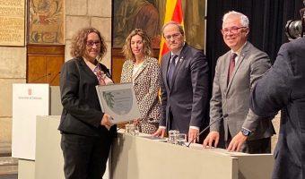 Cal llop Guardó Turisme de Catalunya en Enoturisme